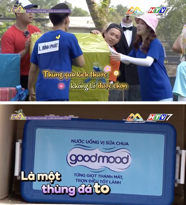 Chắc bạn vẫn còn nhớ thùng nước đá Good Mood thần thánh từng xuất hiện trong phần thử thách cặp đôi chứ? Màn