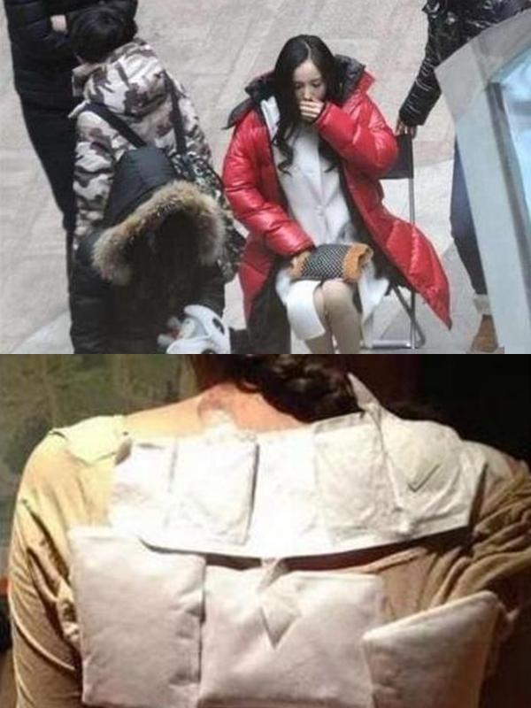 Trong showbiz Trung Quốc, Dương Mịch được mệnh danh là diễn viên có nhiều kinh nghiệm đối phó thời tiết trên trường quay nhất. Hồi đóng chính phim điện ảnh Tiểu thời đại, cô quay nhiều cảnh mùa hè giữa trời đông, lại trùng thời điểm cô mới mang bầu nên thường tranh thủ giữ ấm cơ thể bằng túi sưởi vào giờ giải lao.