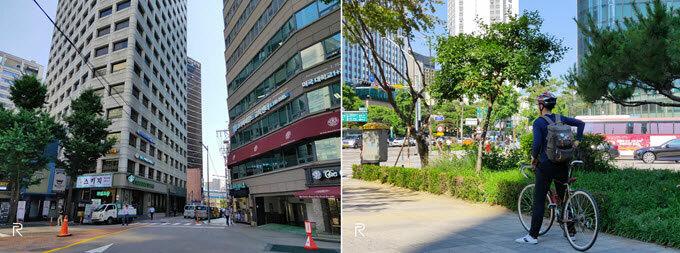 Tháng 7, Seoul đã vào hè nhưng chưa phải mùa nắng nóng. Nếu khởi đầu ngày mới vào sáng sớm, du khách vẫn có thể cảm nhận những cơn gió mang theo hơi lạnh. Americano đá là thức uống phổ biến tại Seoul. Vị đắng nhẹ, mùi thơm đặc trưng của cà phê pha máy đánh thức nhiều người khỏi cơn buồn ngủ còn dai dẳng. Tầm 9h, cả thành phố ngập trong ánh nắng vàng. Đường phố bắt đầu thưa vắng vì các công ty, trường học đi vào hoạt động.