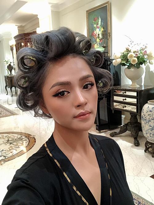 Đăng ảnh làm tóc mới, Thu Quỳnh Về nhà đi con bị diễn viên hài Công Lý trêu: Bị sét đánh hay điện giật thế con?