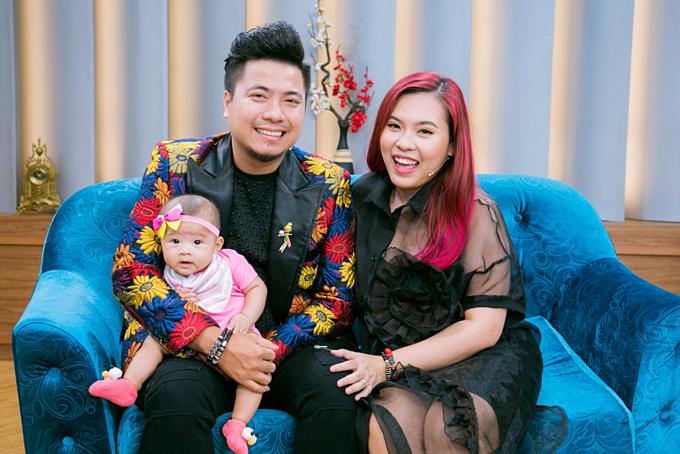 Tổ ấm hạnh phúc của đạo diễn Huỳnh Phúc Thanh Nhân và DJ Wang Trần.