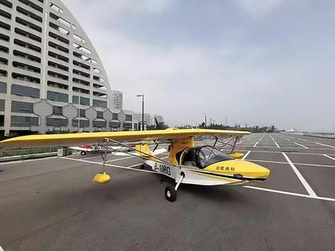 Chiếc máy bay hạng nhẹ thứ hai do cậu bé 13 tuổi trộm rồi lái thử hôm 15/7. Ảnh: Asiawire.