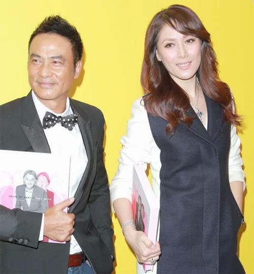 Tài tử Nhậm Đạt Hoa và vợ, người mẫu Kỳ Kỳ.
