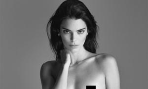 Kendall Jenner chụp ảnh khỏa thân tôn đường cong