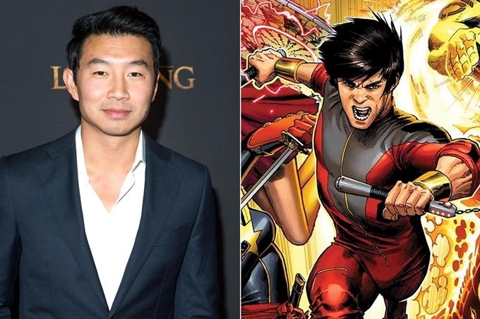 Simu Liu được giao vai chính Shang-chi.