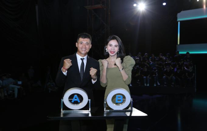 Thủy Tiên, Công Vinh xuất hiện trong tập 2 gameshow Tường lửa.