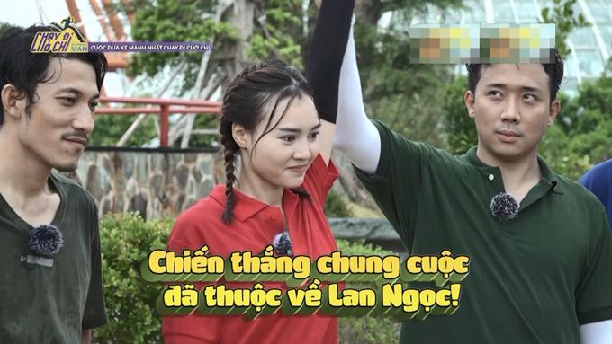 Ninh Dương Lan Ngọc lộ mặt mộc với làn da tươi tắn khi tham gia Chạy đi chờ chi.