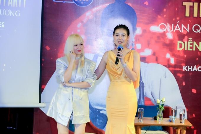 Thanh Hương nói lời cảm ơn đến HLV Đinh Hương, người dẫn dắt cô đến ngôi vị quán quân tại Trời sinh một cặp 2019.