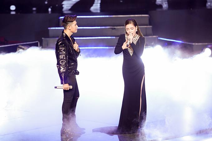 Ở phần song ca, Đức Thịnh hòa giọng cùng ca sĩ Giang Hồng Ngọc bài hát Nơi tình yêu bắt đầu. Ca khúc này giúp học trò của danh ca Tuấn Ngọc khoe được những nốt cao chót vót và sự ngọt ngào trong giọng hát.