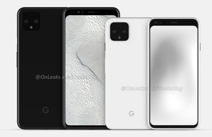 Ảnh dựng Google Pixel 4 lộ diện - 1
