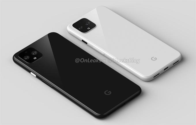Ảnh dựng Google Pixel 4 lộ diện