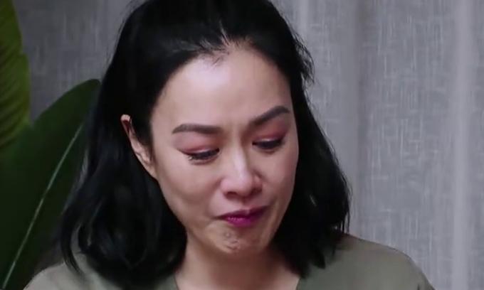 Chung Lệ Đề bật khóc khi kể chuyện bị mẹ chồng mắng trước mặt con.