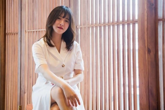 Goo Hye Sun tại buổi giới thiệu sách mới.