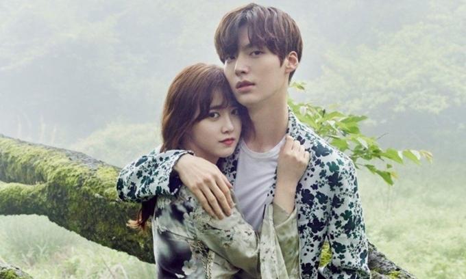Goo Hye Sun và chồng trẻ An Jae Hyun chụp ảnh cho tạp chí Marie Claire.