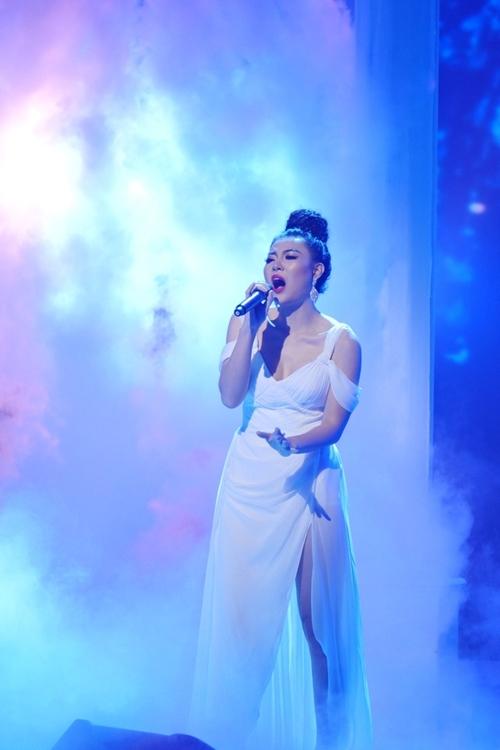 Thanh Hương tỏa sáng trong đêm chung kết Trời sinh một cặp.
