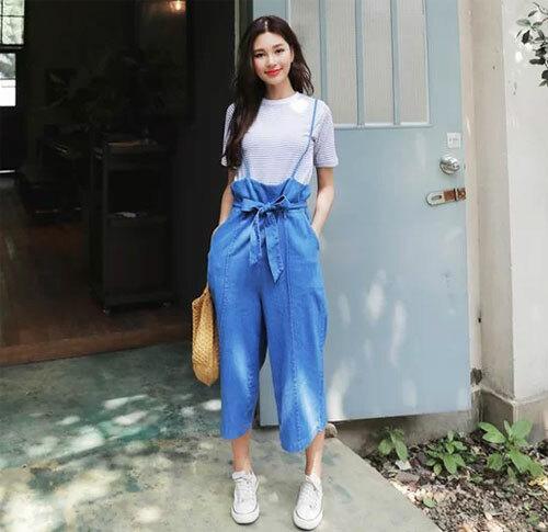 Một bộ trang phục hợp mốt sẽ khiến các nàng tự tin hơn mỗi khi ra ngoài.