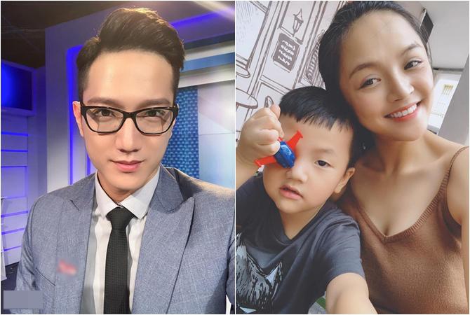 Sau ly hôn, bé Behiện đang ở với Thu Quỳnh.