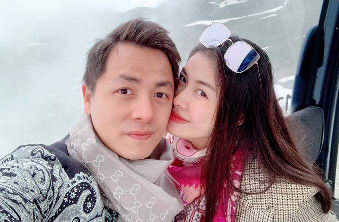 Vợ chồng Đăng Khôi ngắm tuyết rơi mùa hè ở Thụy Sĩ - 3