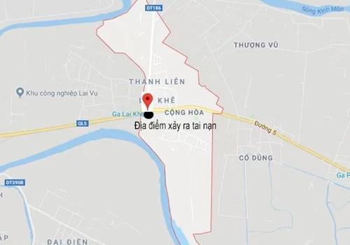 Ba vụ tai nạn cùng xảy ra tại xã Cộng Hòa, huyện Kim Thành, Hải Dương, sáng 23/7.