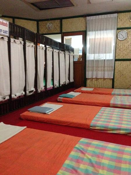 Quán massge ở thành phố Chiang Mai, nơi Warawan đến sử dụng dịch vụ hồi tháng 1. Ảnh: ViralPress.