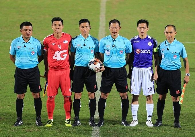 Viettel và Hà Nội FC đóng góp nhiều trụ cột cho đội tuyển quốc gia. Ảnh: VPF.