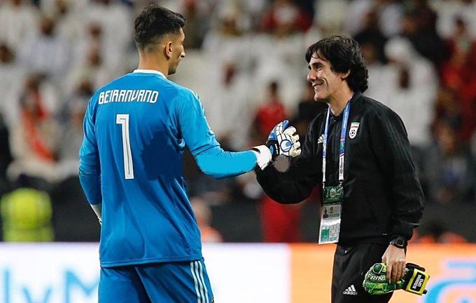 Ông Lopes trước đây từng huấn luyện thủ môn của đội U21 Bồ Đào Nha, thủ môn tuyển UAE, thủ môn tuyển Ấn Độ và niềm tự hào nhất của ông là thủ mônAlireza Beiranvand (ảnh) của Iran, người cản quả phạt đền của Cristiano Ronaldo ở World Cup 2018.