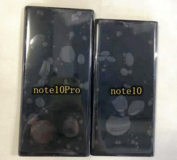 Bộ đôi Galaxy Note 10 lộ ảnh thực tế