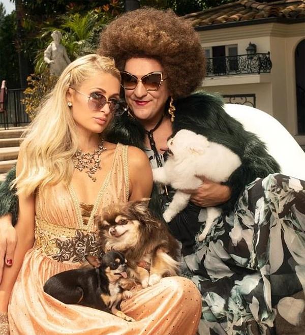 Paris Hilton khoe biệt thự 325.000 USD dành cho chó - 1