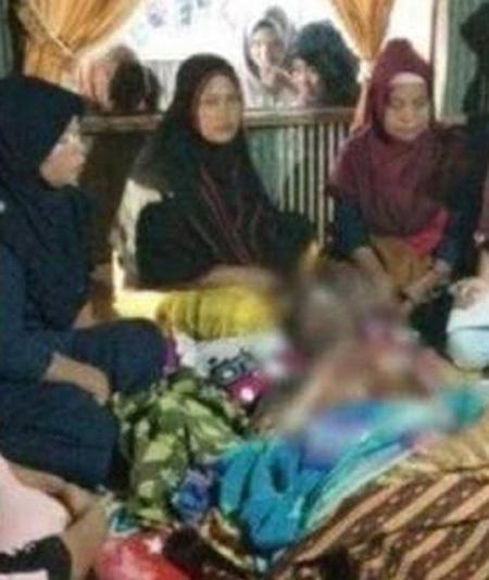 Bahtiar qua đời 6 ngày sau khi bị vợ dội nước sôi khi đang ngủ. Ảnh: Sin Chew Daily.