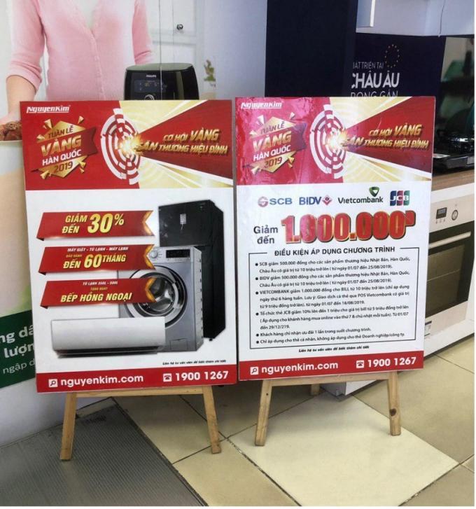 Nguyễn Kim kết hợp cùng Samsung giảm giá tủ lạnh, máy giặt Trong Tuần lễ vàng Hàn Quốc, từ nay đến 28/7, Nguyễn Kim và Samsung giảm giá tủ lạnh, máy giặt gần đến 50%, bảo hành 60 tháng và dành nhiều quà tặng.Nguyễn Kim kết hợp cùng Samsung giảm giá tủ lạnh, máy giặt  - 2