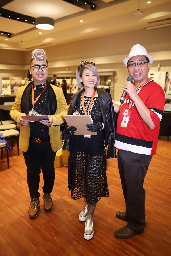 Hoa hậu Nguyễn Vi Thúy làm giám khảo sự kiện phun xăm thẩm mỹ tại Canada - 2