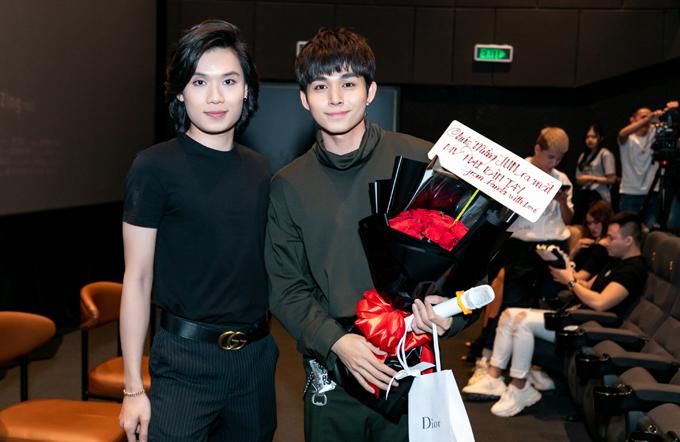 Diễn viên hài Quang Trung ủng hộ Jun trở lại với âm nhạc sau thời gian bận biu với các show truyền hình thực tế.