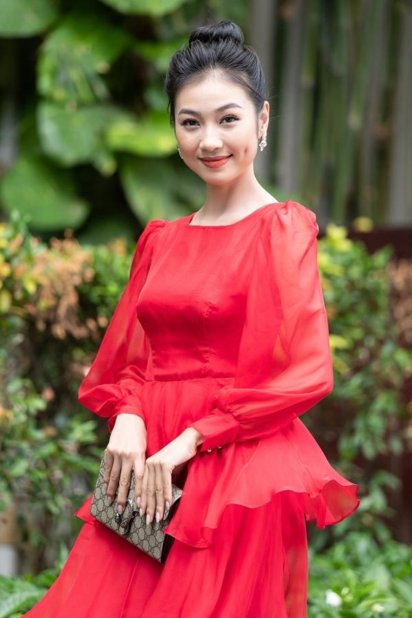 Người đẹp Kiều Vỹ - top 30 Hoa hậu Việt Nam 2016.