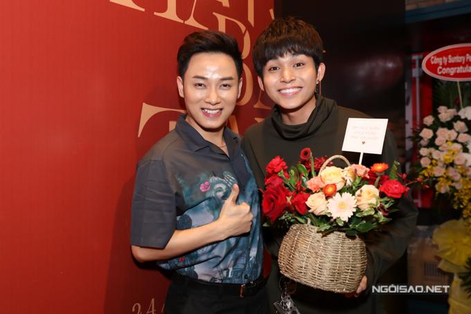 Ca sĩ Trúc Nhân cũng là một người bạn trong nghề thân thiết của Jun Phạm.