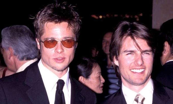 Tom Cruise (phải) và Brad Pitt từng đóng chung phim Interview With A Vampire năm 1994.