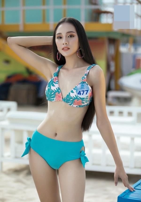 Thí sinh Hoa hậu Thế giới VN 2019 diện bikini đọ dáng ở Đà Nẵng - 6