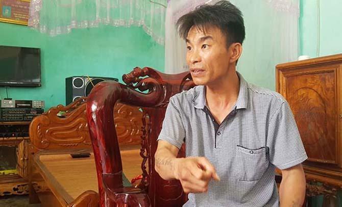 Nhân viên bảo vệ Phạm Văn Bằng kể lại giây phút đối diện tên cướp có súng.