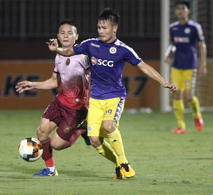 Quang Hải ghi bàn trở lại Chủ nhật tuần trước. Ảnh: VPF.