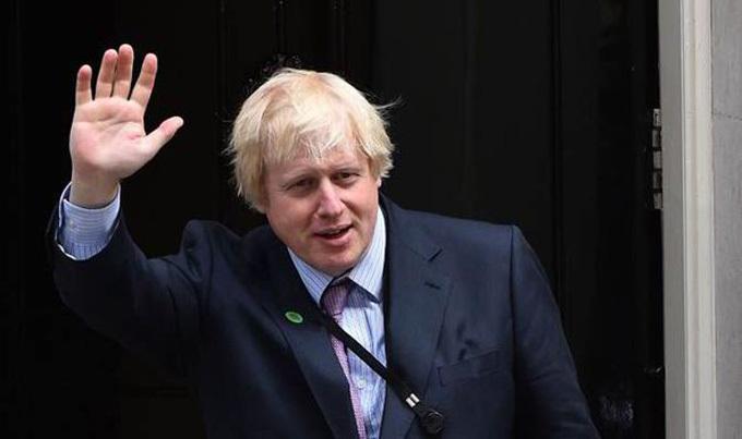 Tân thủ tướng Anh Boris Johnson. Ảnh: AFP.
