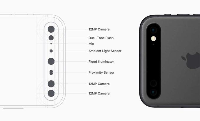 Ý tưởng iPhone có cụm camera xếp ngang - 1