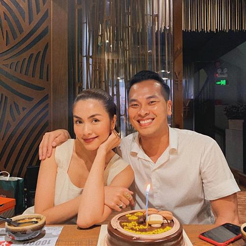 Tăng Thanh Hà chúc mừng sinh nhật một người bạn.