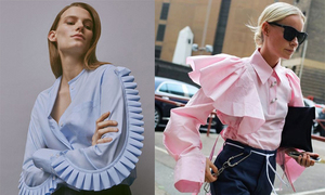 Những kiểu áo blouse cho nàng mê xu hướng bèo nhún