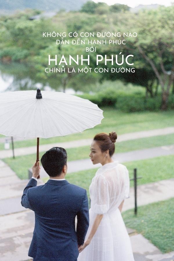 Đàm Thu Trang ôm chặt Cường Đôla trong ảnh cưới - 10