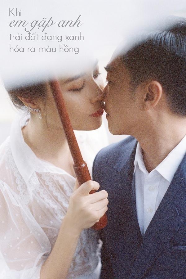 Đàm Thu Trang ôm chặt Cường Đôla trong ảnh cưới - 11
