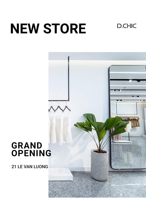 Cửa hàng mới của thương hiệu tại số 21 Lê Văn Lương