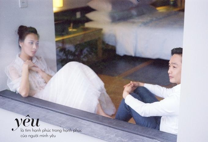 Đàm Thu Trang ôm chặt Cường Đôla trong ảnh cưới - page 2 - 6