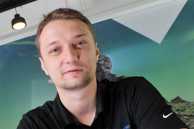 Doanh nhân trẻ Marcin Kleczynski. Ảnh: BBC.