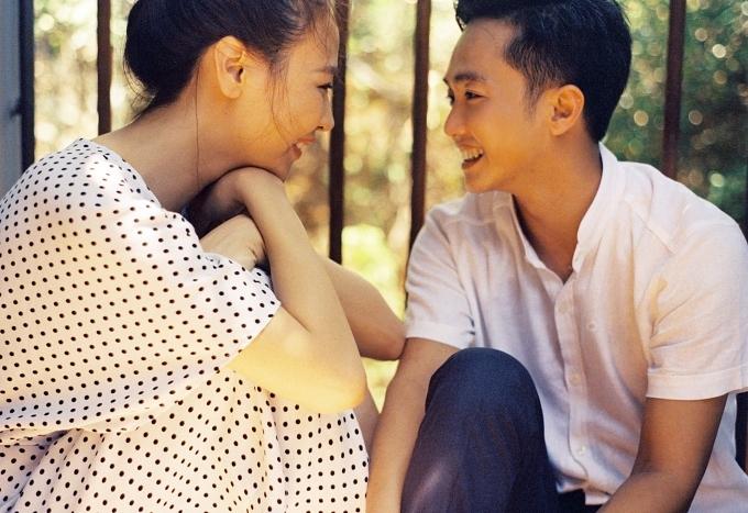 Đàm Thu Trang ôm chặt Cường Đôla trong ảnh cưới - 3