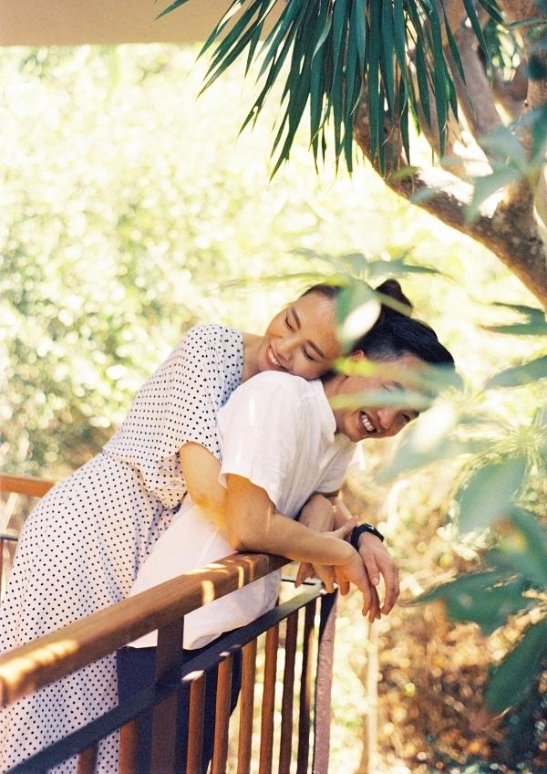 Đàm Thu Trang ôm chặt Cường Đôla trong ảnh cưới - 6