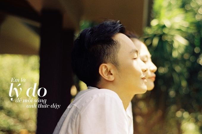 Đàm Thu Trang ôm chặt Cường Đôla trong ảnh cưới - 7